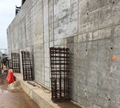The walls of the Dow Chemical ethylene production facility were treated with PENETRON ADMIX- and with a layer of PENETRON crystalline waterproofing material for added protection.