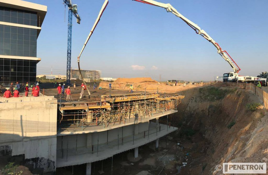 South African Office Park Builds On Penetron For Longevity