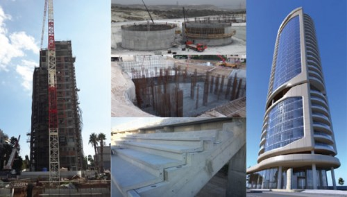 Penetron worked with the local engineering and construction teams to provide durable waterproofing solutions for below-ground and exposed concrete structures.
