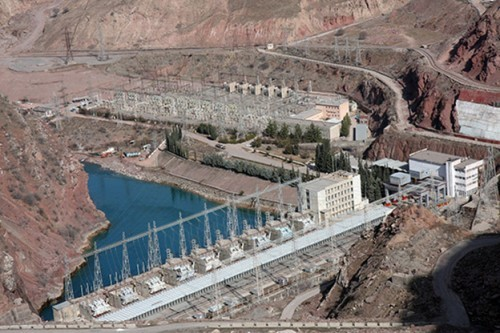 The Rogun Hydro plant doubles Tajikistan's total energy production and provides water for farming. Surplus energy from the facility will be exported to neighboring countries.