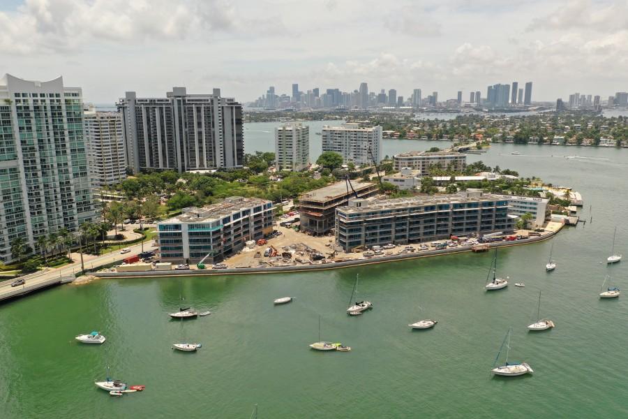 Bella Isla Apartments Penetron Total Concrete Protection