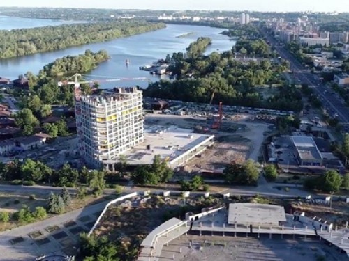 Dnipro Creates a New Urban City Center – with PENETRON Technology