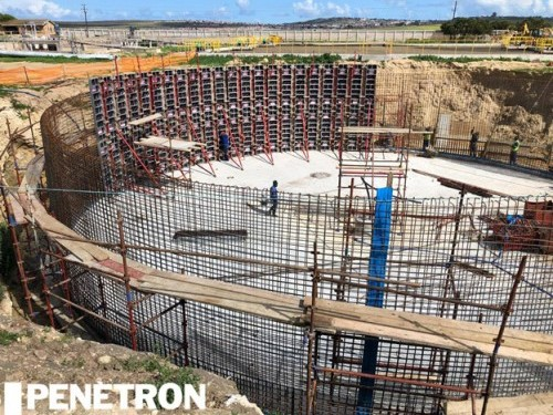 Penetron Technology Provides Value for Western Cape Sewage Plant