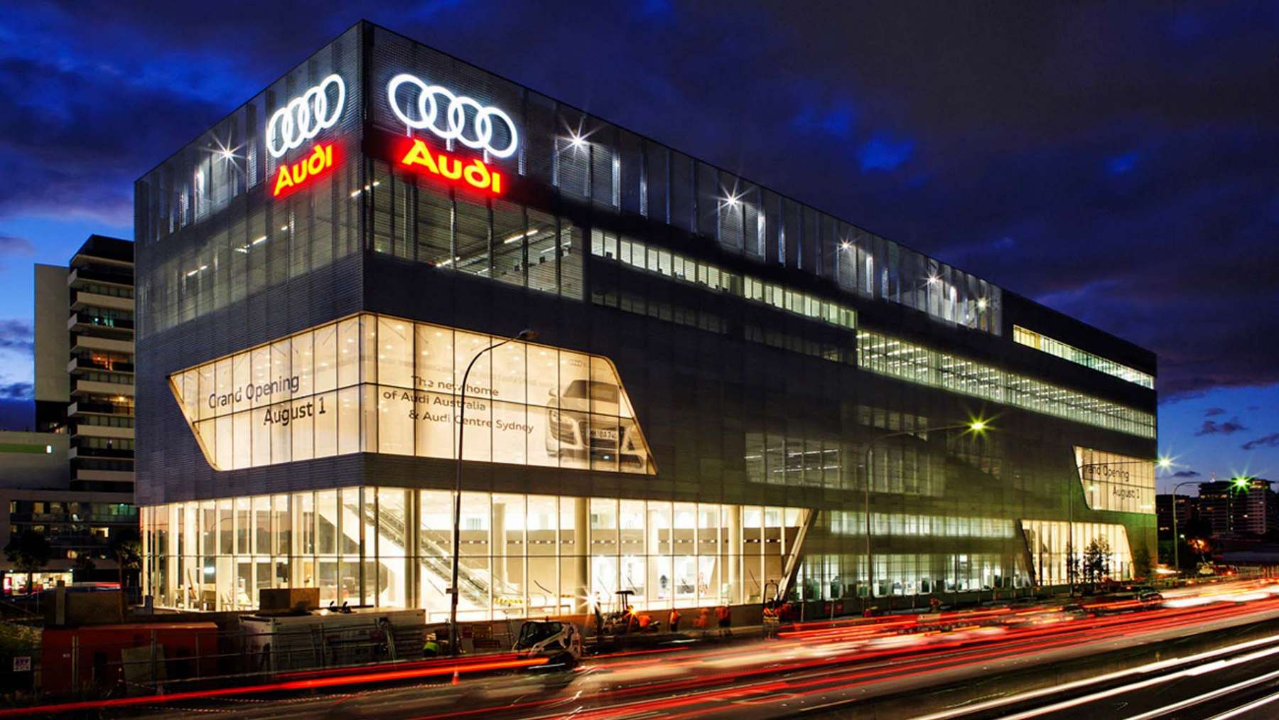 Audi Lighthouse, national headquarters and showroom in Sydney, Australia